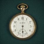 W G Railroad Pocketwatch