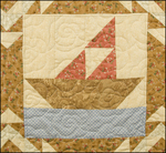 Moore Quilt, 7 detail