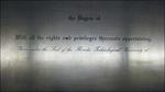 Memorabilia University History FTU Printing Plate, 6 final