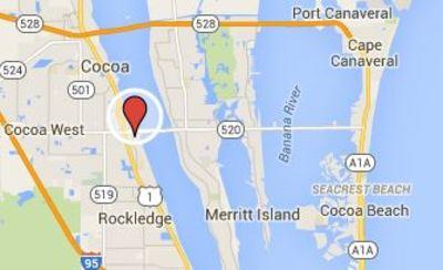 Merritt Island Florida Map.A History Of Central Florida Maps University Of Central Florida