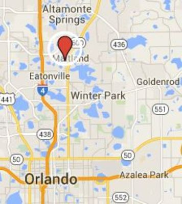 Orlando Florida Map Google.Episode 36 Art Colony Bell Location Google Map