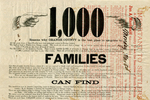 1,000 families can find free homesteads in Orange County, Florida, 1876. Top detail