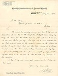 Seminole Indian Tribe, federal census letter, 1900 by John Otto Fries