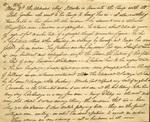 Page from Bartholomew Lynch Journal describing Osceola, May 2, 1837 by Bartholomew Lynch