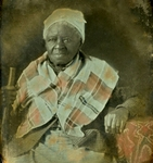 Daguerreotype image of Mauma Mollie, circa 1855