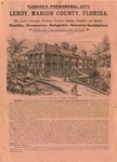 Front page for Marion County Facts for the Investors and Settlers, late 1880s