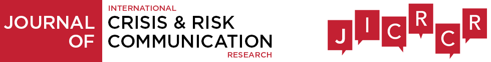 Journal of International Crisis and Risk Communication Research