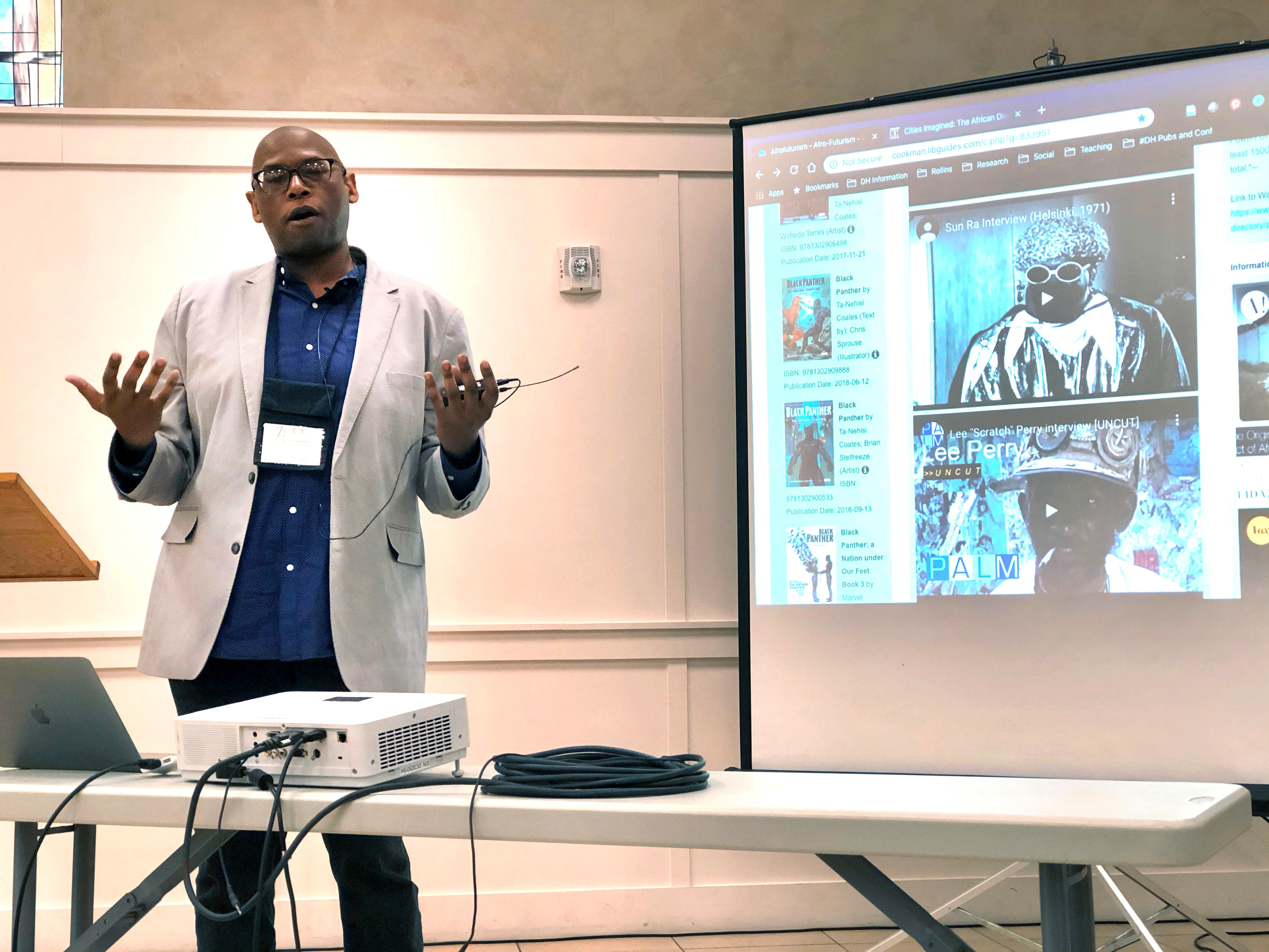 2020-2021 Afrofuturism Syllabus - Week 1 - Interview with Dr. Julian Chambliss
