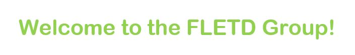 Welcome to the FLETD Group!