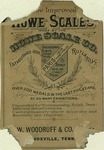 Howe Scales Co. Tradecard.