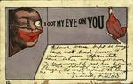 I got my eye on you. I