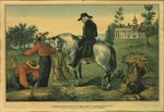 Washington at Mount Vernon 1797. by Currier, N.