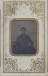 Portrait of an elderly African American female.