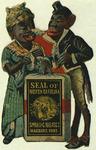 Seal of North Carolina: Smoking Tobacco Marburg Bros.