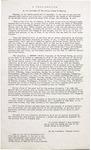 A proclamation.
