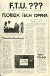 Central Florida Future, Vol. 01 No. 01, October 7, 1968 by Florida Technological University