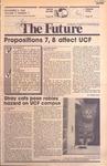 Central Florida Future, Vol. 17 No. 11, November 2, 1984