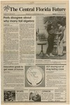 Central Florida Future, Vol. 20 No. 20, November 3, 1987