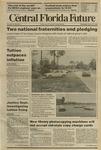 Central Florida Future, Vol. 22 No. 04, August 31, 1989