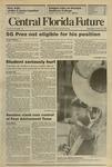 Central Florida Future, Vol. 22 No. 18, October 19, 1989