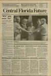 Central Florida Future, Vol. 22 No. 22, November 7, 1989