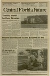 Central Florida Future, Vol. 22 No. 23, November 9, 1989