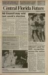 Central Florida Future, Vol. 23 No. 11, September 25, 1990