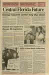 Central Florida Future, Vol. 23 No. 34, January 22, 1991