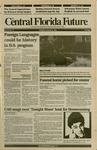 Central Florida Future, Vol. 24 No. 14, October 8, 1991