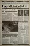 Central Florida Future, Vol. 24 No. 27, November 21, 1991