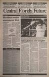 Central Florida Future, Vol. 25 No. 11, September 29, 1992