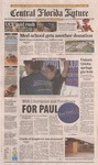 Central Florida Future, Vol. 40 No. 08, January 25, 2008