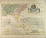 A Map of Carolina, Florida and the Bahama Islands With the Adjacent Parts by Mark Catesby