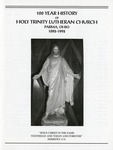 100th Anniversary Booklet of Holy Trinity Lutheran Church