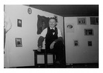 Andy Stanko In the Role Of a Photographer In Church Play, c. Late 1940s