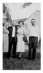 Andrew Duda, Sr. with Visitors, c. 1950