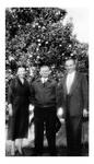 Andrew Duda, Sr. with Dr. & Mrs. Andrew Daniel, c. 1950