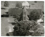 Aerial View: St. Luke's Lutheran Church, 1971 by SELC