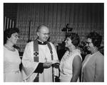 Barbara Kozic Receives Scholarship Award, c. 1966