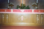 Altar of the 1957 Church; Photo From 1990
