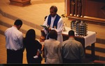 Baptismal Blessing in Chancel of 1993 Sanctuary. c. 2003