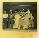 Adult Costume Winners, Halloween, 1954. St. Luke's Christian Day School