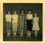 Baton Twirlers, St. Luke's Christian Day School. 1954-55