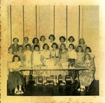 4-H Girls, St. Luke's Christian Day School, 1954-55