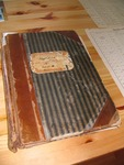 Archival Book Containing Duda Family Genealogical Records. Slovakia. 2009