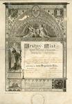 Baptismal Certificate, 1924, Miroslav (Milton) Lukas