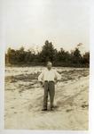 Andrew Sobek in a Field of Celery. c. 1951