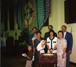 """Baptism in the """"Gymnasium Church"""" (Founders Hall), June 6, 1993"""