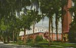 Beautiful and Imposing Chaudoin Hall and Hulley Tower at John B. Stetson University, DeLand, Fl.