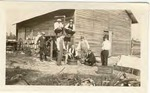 Barn on farm in Slavia, c. 1920s